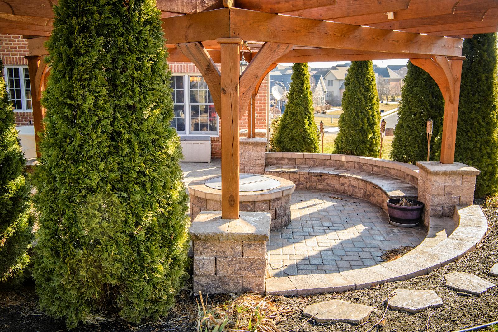 Attractive Landscape / Patio Design